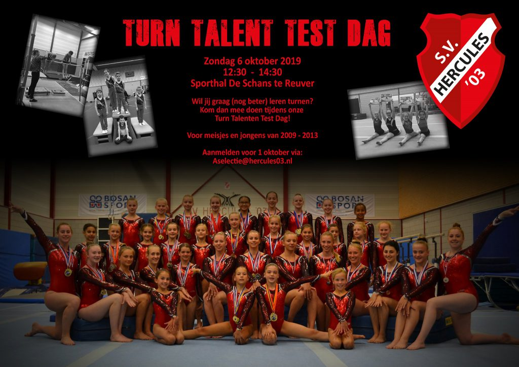 Turn Talent Test Dag - S.V.Hercules'03 Reuver - 6 oktober 2019